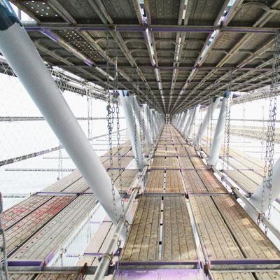 平成29年度海域施設塗装補修工事  仮設足場工事